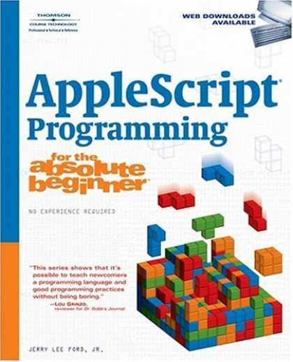 Programming Books - AppleScript Programming for the Absolute Beginner