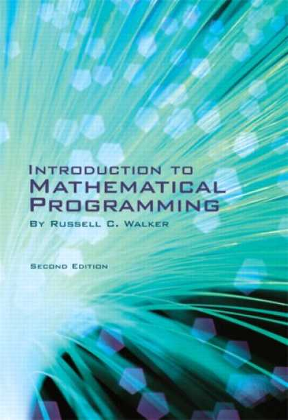 Programming Books - Introduction to Mathematical Programming (2nd Edition)