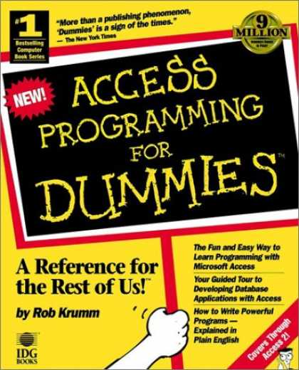 Programming Books - Access Programming for Dummies