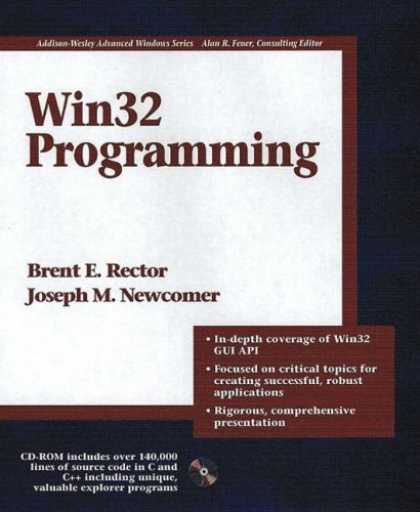 Programming Books - Win32 Programming (Addison-Wesley Advanced Windows Series)