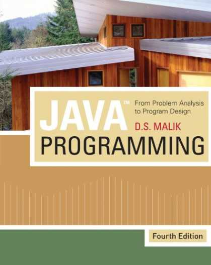 "Programming Books - Javaâ""¢ Programming: From Problem Analysis to Program Design"