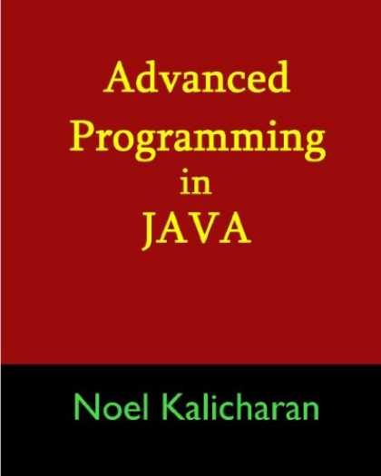 Programming Books - Advanced Programming In Java