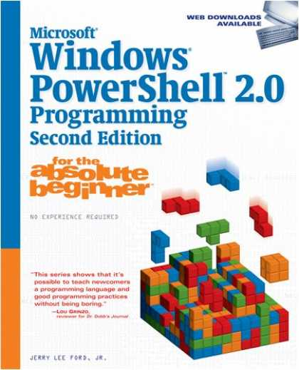 Programming Books - Microsoft Windows PowerShell 2.0 Programming for the Absolute Beginner