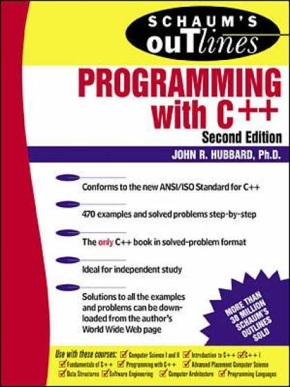 Programming Books - Schaum's Outline of Programming with C++