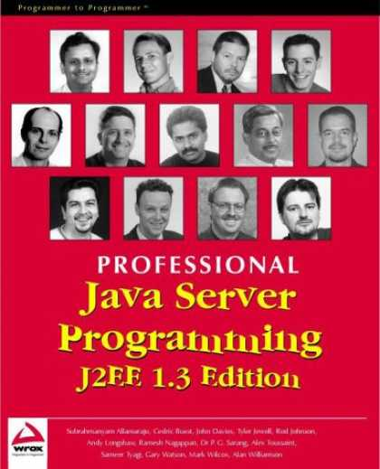 Programming Books - Professional Java Server Programming J2EE, 1.3 Edition