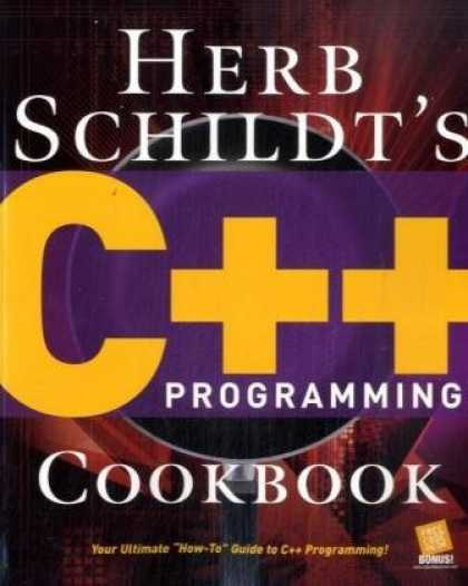 Programming Books - Herb Schildt's C++ Programming Cookbook