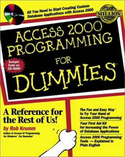 Programming Books - Access 2000 Programming for Dummies