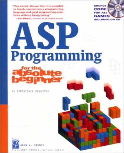 Programming Books - ASP Programming for the Absolute Beginner
