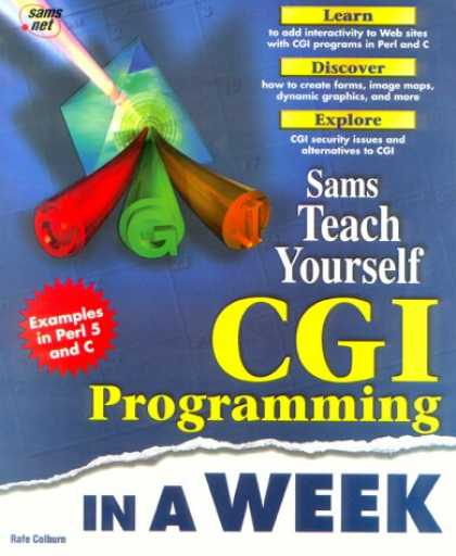 Programming Books - Teach Yourself - CGI Programming in a Week