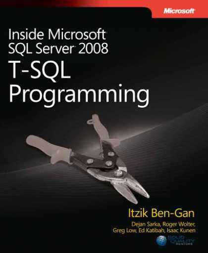 Programming Books - Inside Microsoft® SQL Server® 2008: T-SQL Programming (Pro-Developer)