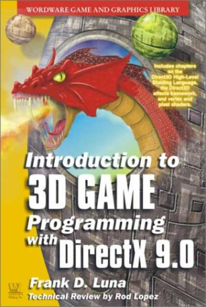 Programming Books - Introduction to 3D Game Programming with DirectX 9.0 (Wordware Game and Graphics