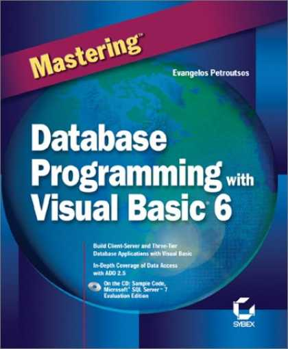 Programming Books - Mastering Database Programming with Visual Basic 6