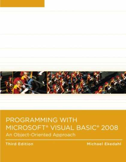 Programming Books - Programming with Microsoft Visual Basic 2008: An Object-Oriented Approach