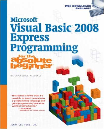 Programming Books - Microsoft Visual Basic 2008 Express Programming for the Absolute Beginner