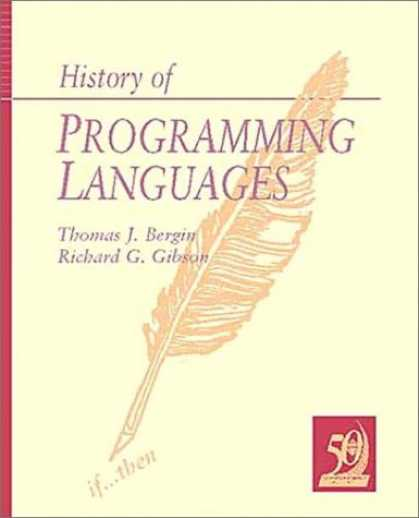 Programming Books - History of Programming Languages, Volume 2 (ACM Press)