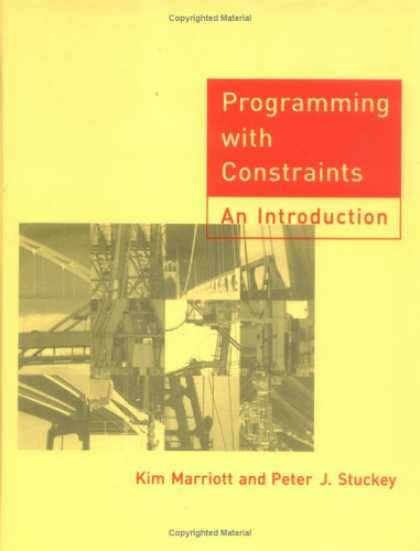 Programming Books - Programming with Constraints: An Introduction