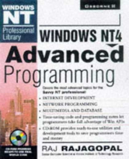 Programming Books - Windows Nt 4 Advanced Programming (Windows Nt Professional Library)