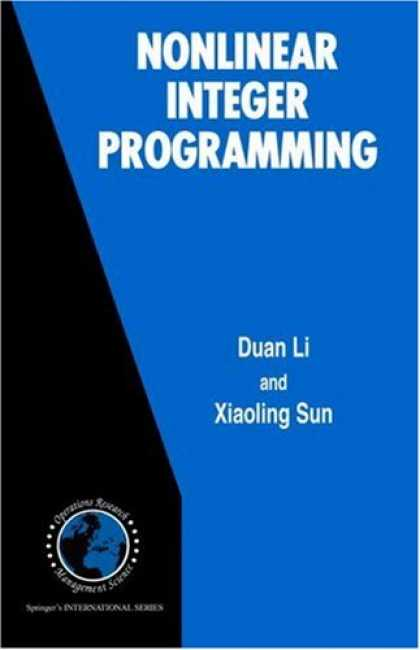 Programming Books - Nonlinear Integer Programming (International Series in Operations Research & Man