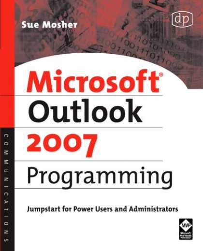 Programming Books - Microsoft Outlook 2007 Programming: Jumpstart for Power Users and Administrators