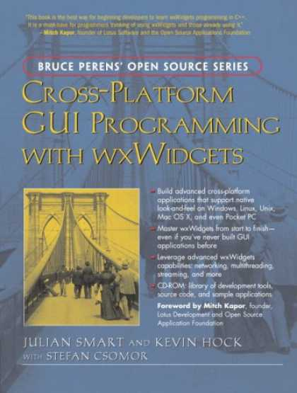 Programming Books - Cross-Platform GUI Programming with wxWidgets (Bruce Perens' Open Source Series)
