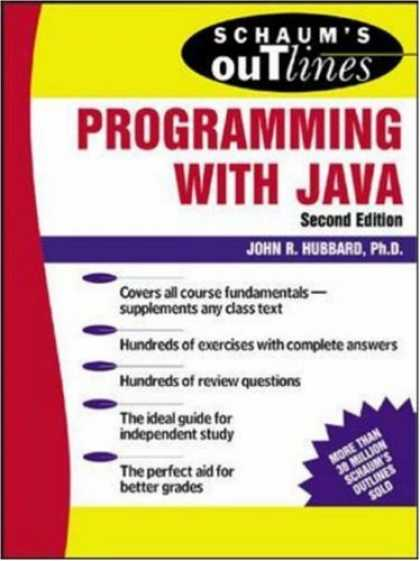 Programming Books - Schaum's Outline of Programming with Java