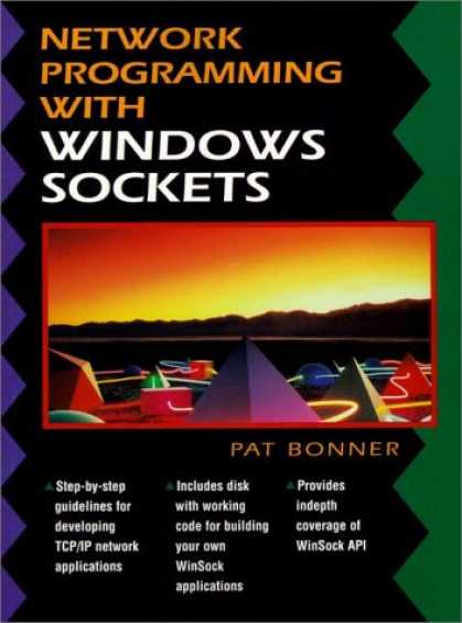 Programming Books - Network Programming with Windows Sockets (Bk/Disk)