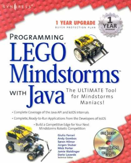 Programming Books - Programming Lego Mindstorms with Java (With CD-ROM)