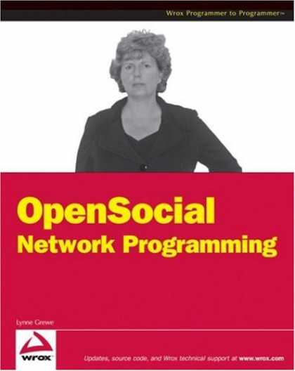 Programming Books - OpenSocial Network Programming (Wrox Programmer to Programmer)