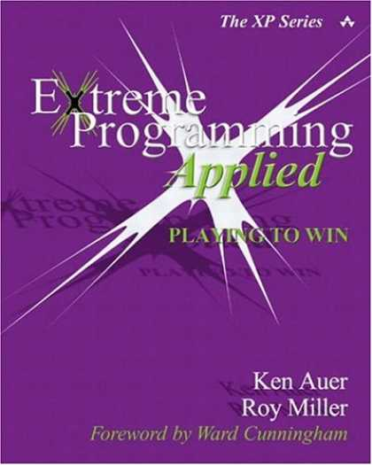 Programming Books - Extreme Programming Applied: Playing to Win (XP Series)