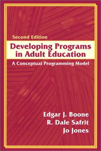 Programming Books - Developing Programs in Adult Education: A Conceptual Programming Model (2nd Edit