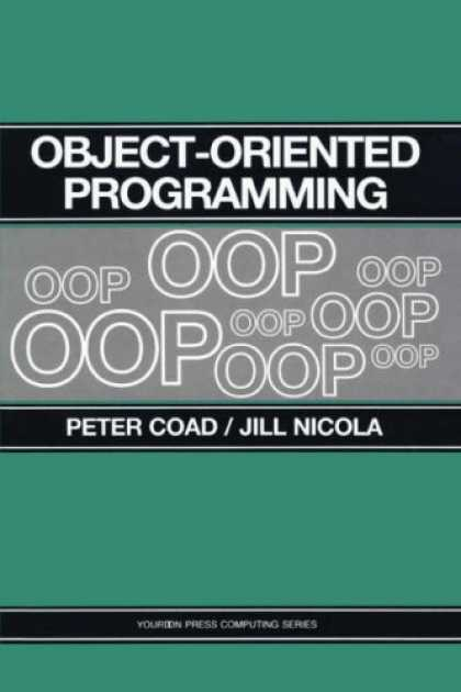 Programming Books - Object-Oriented Programming (Yourdon Press Series)