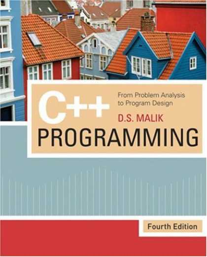 Programming Books - C++ Programming: From Problem Analysis to Program Design
