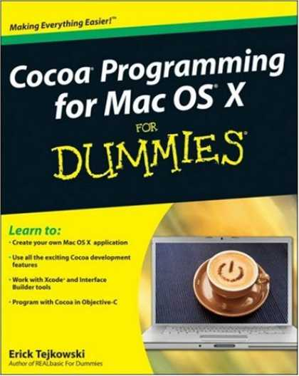 Programming Books - Cocoa Programming for Mac OS X For Dummies (For Dummies (Computer/Tech))