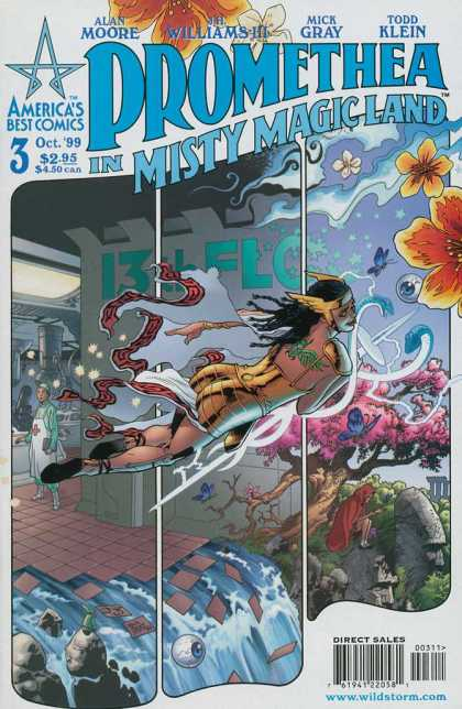 Promethea 3 - Alan Moore - Mick Gray - Todd Klein - Jh Williams Iii - Promethea - III Williams, Mick Gray