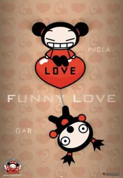 Pucca 3 - Love - Heart - Girl - Boy - Funny Love