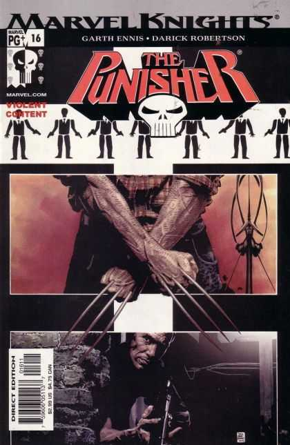 Punisher (2000) 16 - Do Not Make Mistakes - Rises From The Hell Grave - Must Follow The Rule - Get Ready For Punishment - The Dead Head