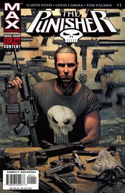 Punisher (2004) 1 - Tim Bradstreet