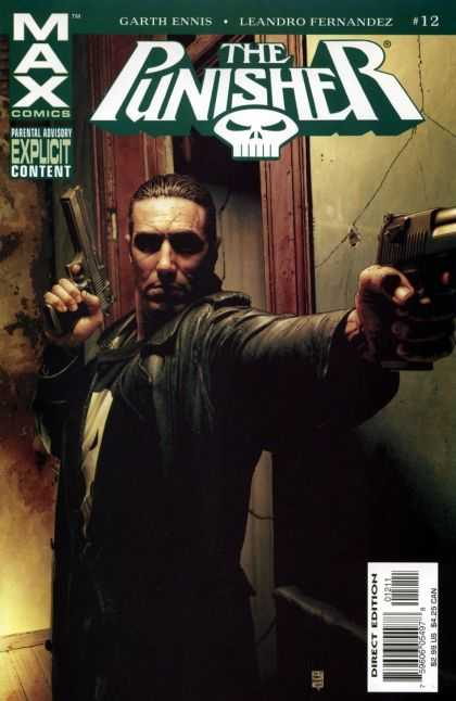 Punisher (2004) 12 - Trapped In Hell - Journey To The Hell - Crip Crisser - Shooting In The Hell - Call Of War - Tim Bradstreet