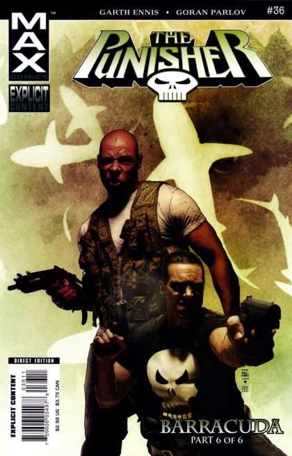 Punisher (2004) 36 - Max - Garth Ennis - Garan Parlov - Explicit Content - Barracuda - Tim Bradstreet