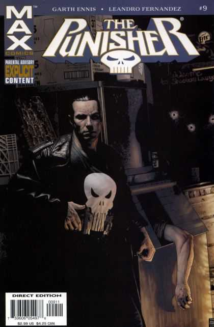 Punisher (2004) 9 - One Skeleton - One Box - One Hand - Jocket - One Man - Tim Bradstreet
