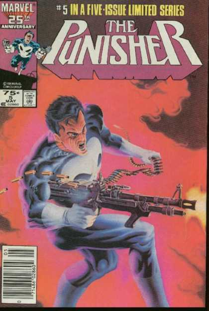 Punisher Mini Series 5 - Gun - Shooting - Enemy - Anger - Machine Gun