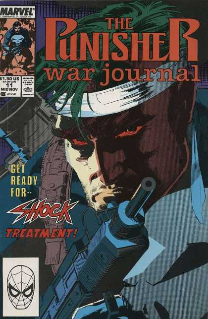 Punisher War Journal 11 - Jim Lee