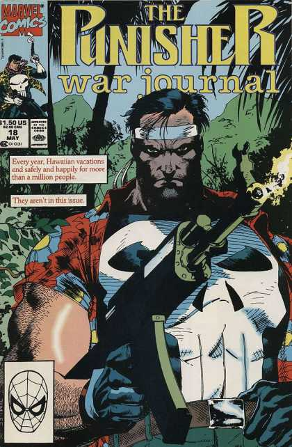 Punisher War Journal 18 - Marvel - Marvel Comics - Jim Lee - Hawai - War - Alex Maleev, Jim Lee