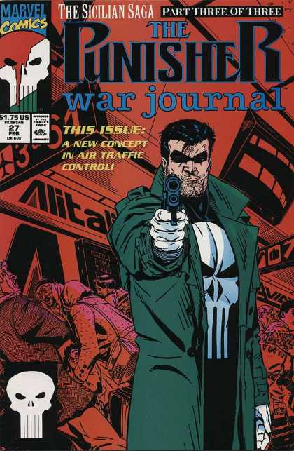Punisher War Journal 27 - Michael Golden