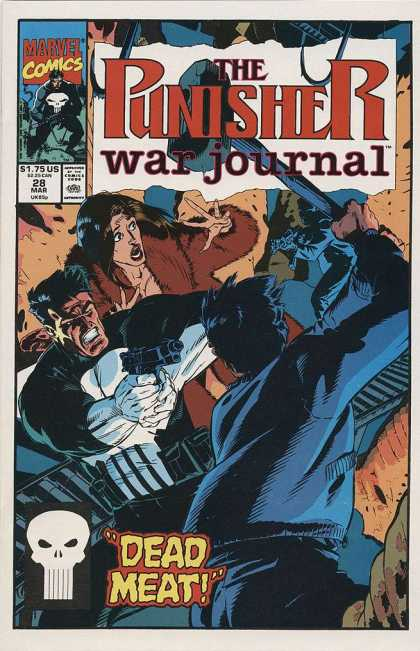 Punisher War Journal 28 - Michael Golden