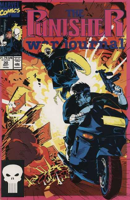 Punisher War Journal 30 - Michael Golden
