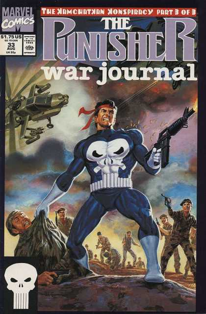 Punisher War Journal 33 - Joe Jusko