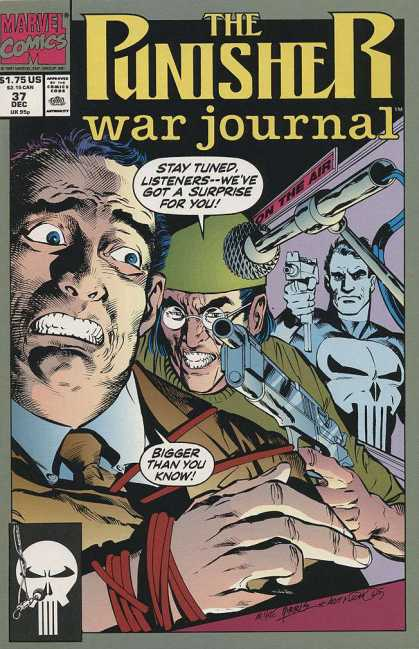 Punisher War Journal 37 - On The Air - Microphone - Gun - Red Rope - Stay Tuned Listeners