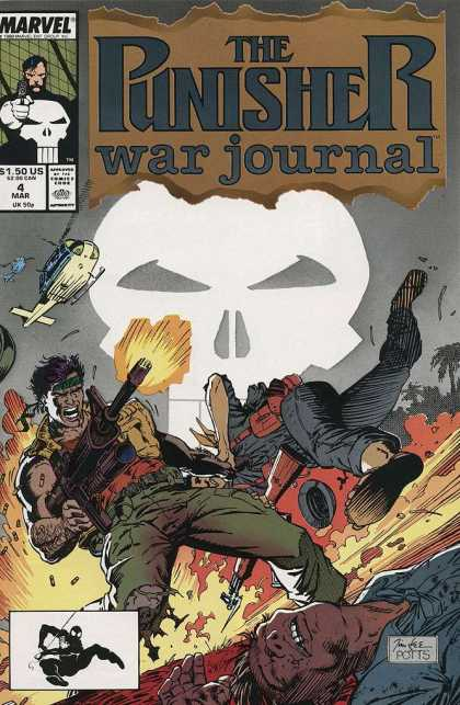 Punisher War Journal 4 - Deodato Fiho, Jim Lee