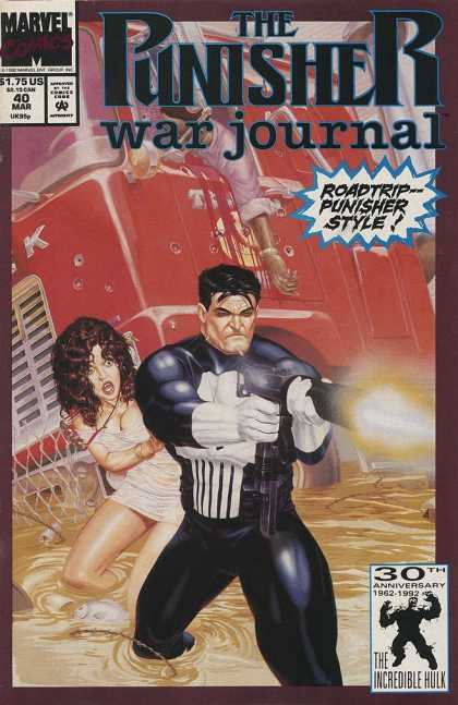 Punisher War Journal 40 - Michael Golden